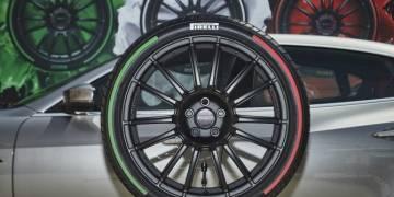 Pirelli выпустила шины в цветах итальянского флага