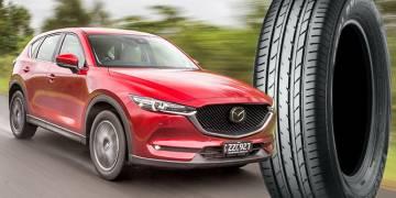 Yokohama поставляет покрышки на новый кроссовер Mazda