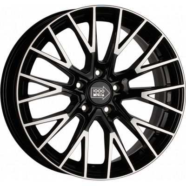 1000 Miglia MM1009 Gloss Black Polished