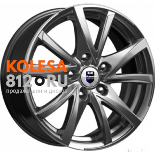 КиК Игуана (КС546) 6.5 R16 PCD:5/100 ET:38 DIA:67.1 Dark platinum