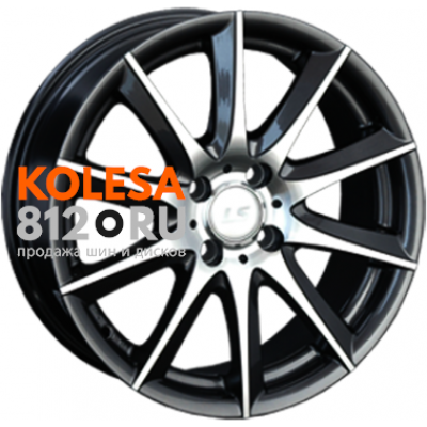 LS Wheels LS286 BKF