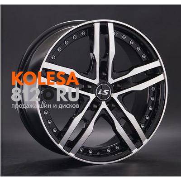 LS Wheels LS356 BKF