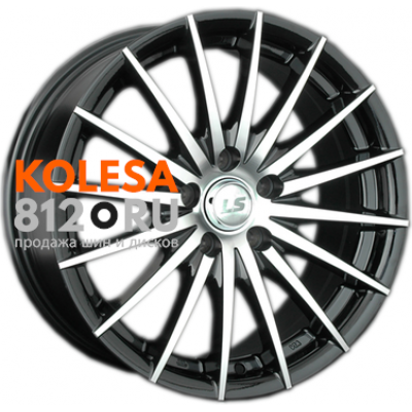 LS Wheels LS367 BKF