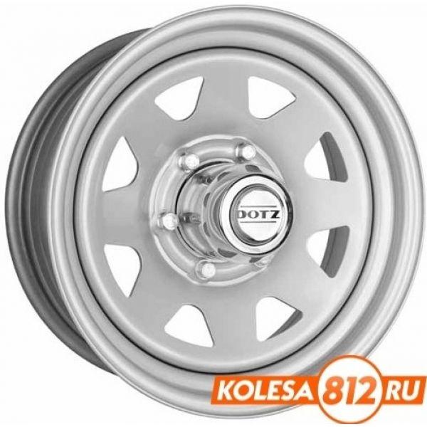 DOTZ Dakar 7 R15 PCD:5/114.3 ET:5 DIA:71.6 серебристый